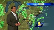Foggy A.M. to lead to clouds, slight shower chance