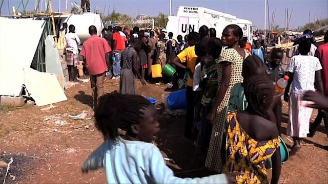 UN: Near 20,000 displaced S.Sudanese in camps