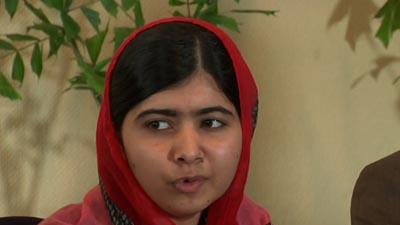 Malala Meets 'Bring Back Our Girls' Activists