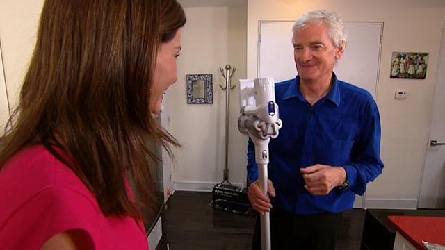James Dyson Isn't Afraid of a Challenge