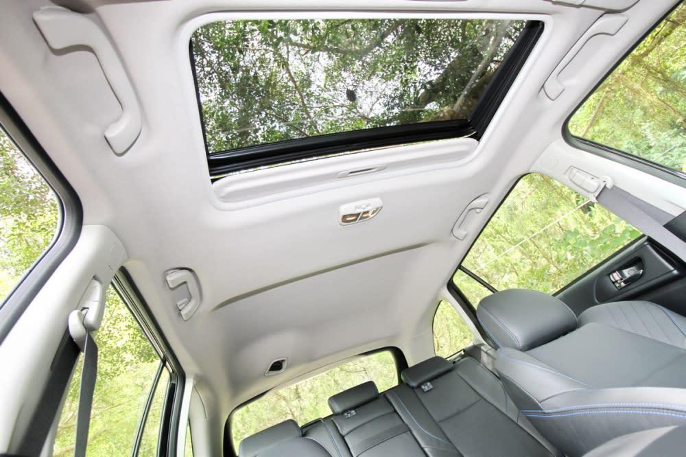 Levorg 1.6 GT-S高規車型才會配備電動玻璃天