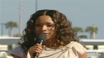 Jennifer Hudson Performs At Dream Christening
