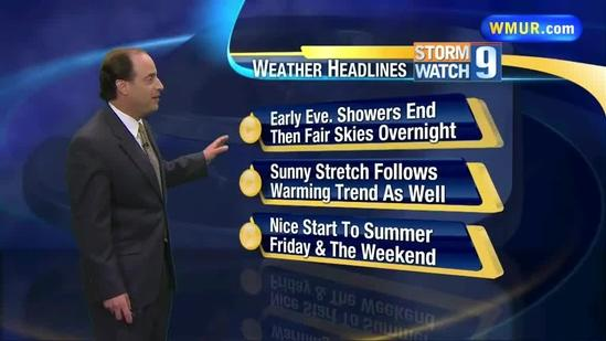 Warmer temperatures to move in to NH