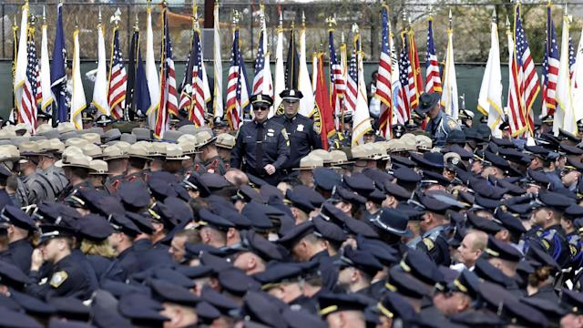 Sean Collier service draws thousands to MIT campus