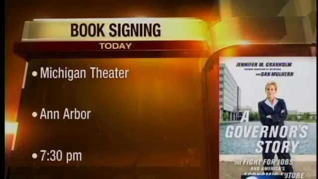 Former Governor book signing