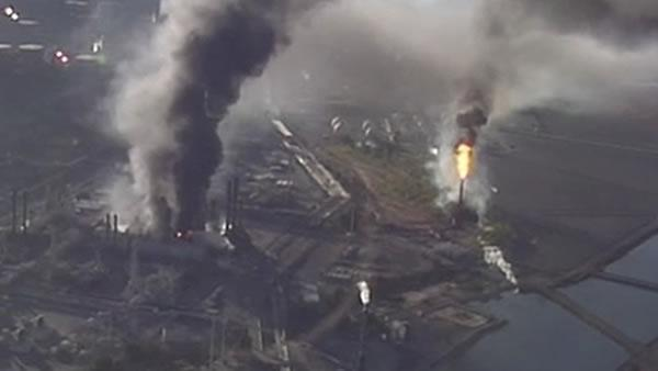 Feds release report on Chevron refinery fire