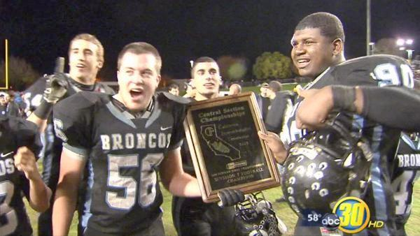 Broncos Prep For Game With Long Beach Poly