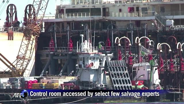 Taking control of Italy's cruise ship wreck