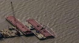 Texas barge collision: no air quality concerns
