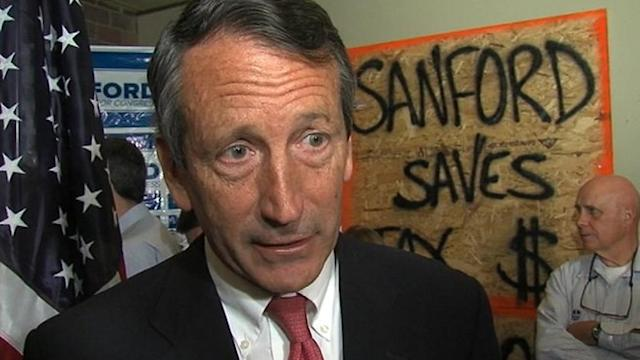 Mark Sanford's Ex-Wife Says He Trespassed