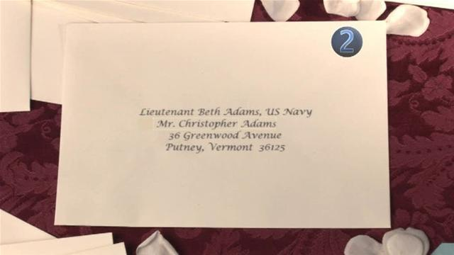 How To Send Wedding Invitation To A Female Military Officer
