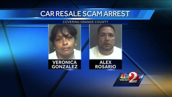 Car dealers charged in connection to auto resale scam