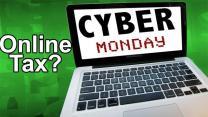 Online sales tax debate heats up on 'Cyber Monday'