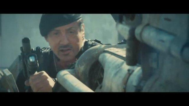 'The Expendables 2' Clip: Water Tower