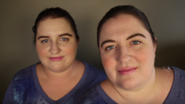 Almost Identical Twin Strangers- Ambra & Jennifer