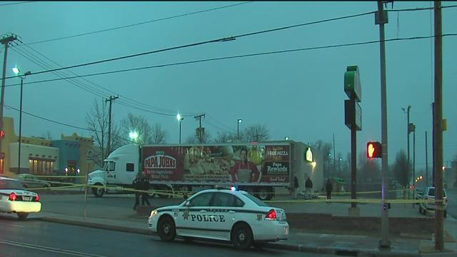 Man killed outside of Papa John's Pizza