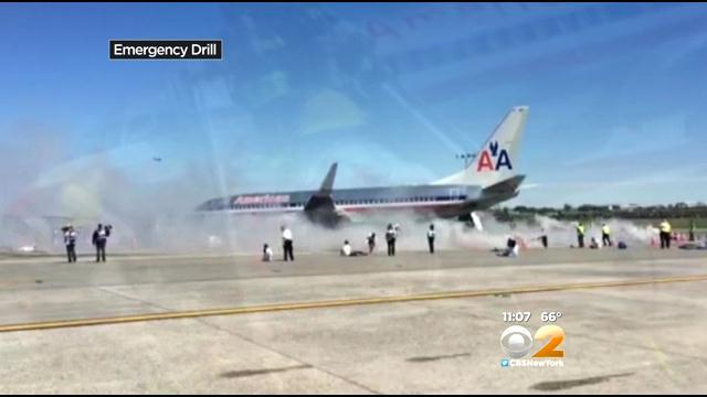 Crews Test Emergency Plan, Procedures With Drill At LaGuardia Airport