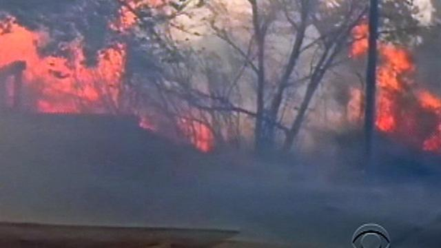 Downed power lines blamed for Nev. wildfire