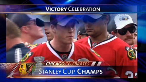 Blackhawks parade starts 10:30 a.m. Friday, rally at 11 a.m. in Grant Park