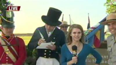 Ava Visits Fort McHenry On Flag Day