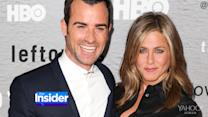 Which Hollywood Star Introduced Jennifer Aniston and Justin Theroux?