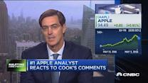 Apple is a 'show me stock near-term': Analyst