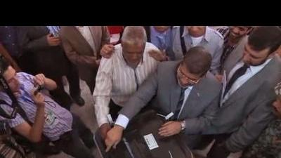 Egypt's presidential candidates cast their votes