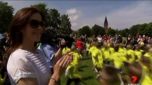 Princess Mary helps fight bullying