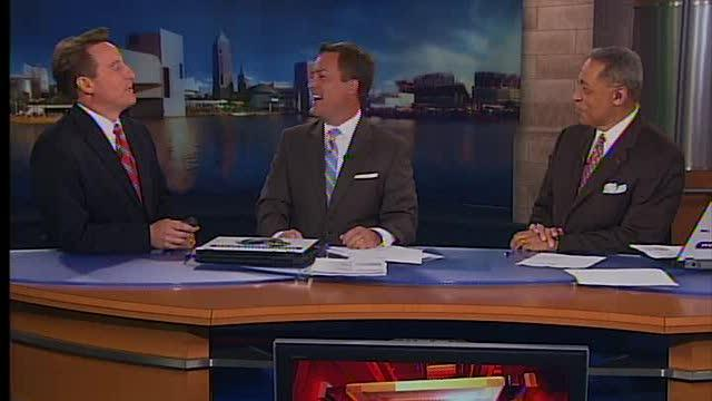 Weatherman's reaction to Heat goes viral
