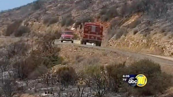 South Valley fire crews return from Springs Fire