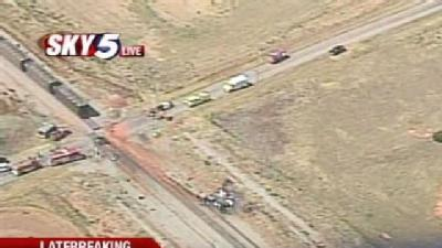 1 Killed In Train, Truck Crash