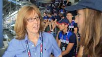 US Open Ball Handlers Prepare for Game Day
