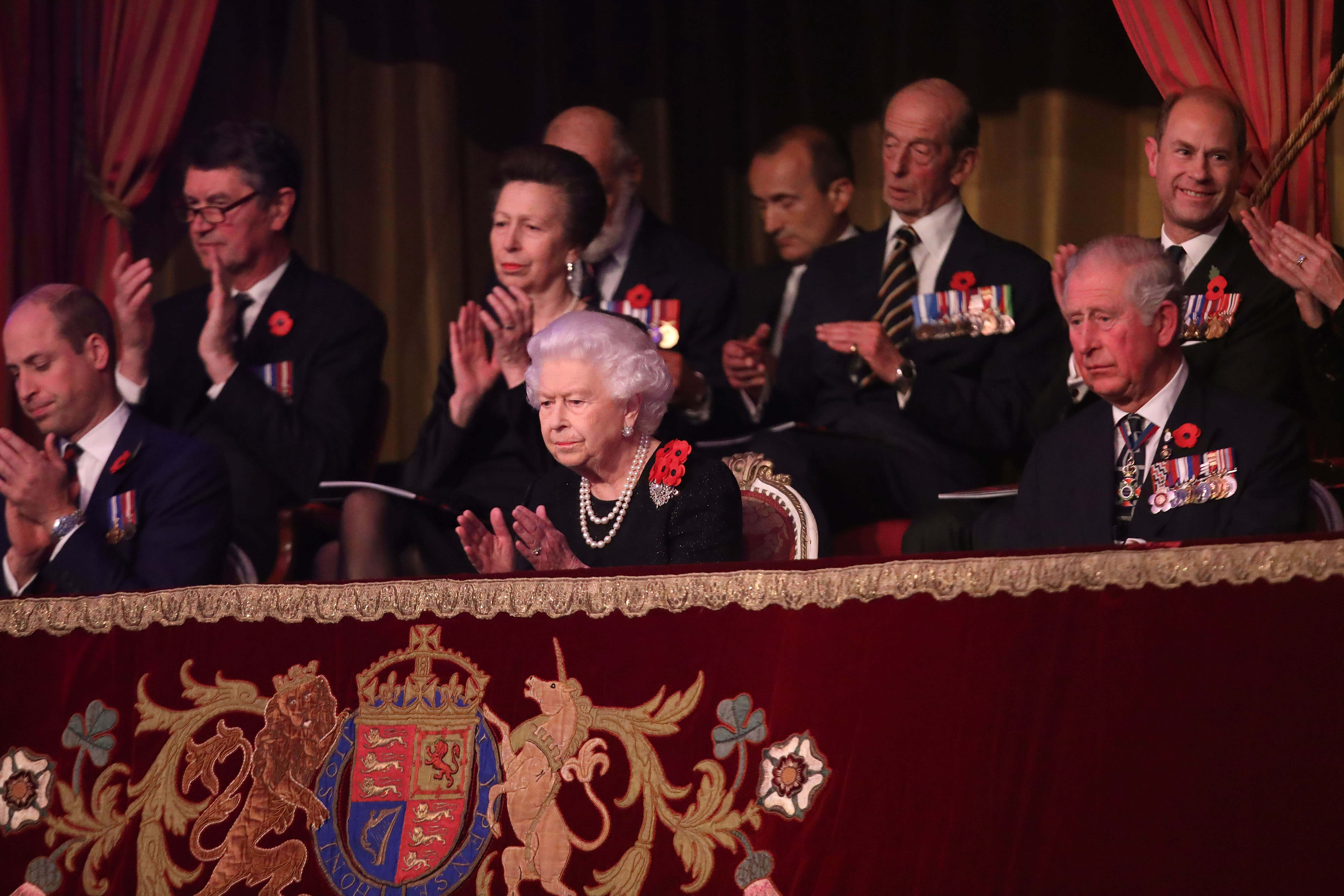 Royal Family Solemnly Commemorates Remembrance Day 2018 In London