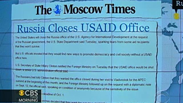 Headlines: Russia closes USAID office