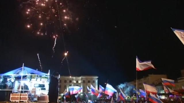Crimeans vote to quit Ukraine for Russia