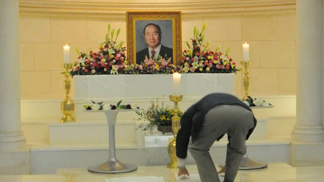 Moon's death threatens unity of Unification Church
