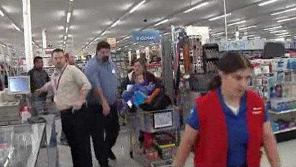 Scuffle at Kmart over Black Thursday deals