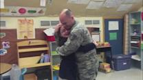 Emotional Reunion: Military Dad Surprises Daughter at School for the Deaf
