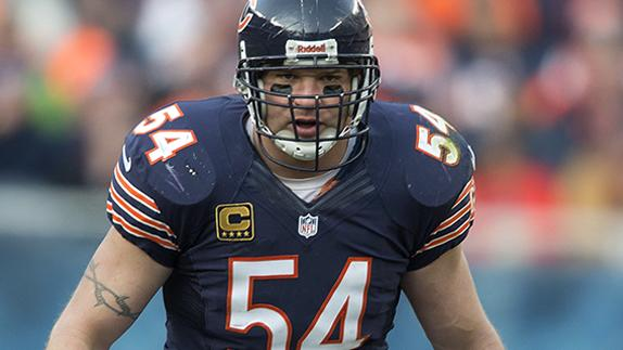 Brian Urlacher: I've never been a jerk on the field