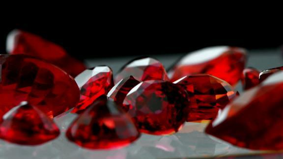 The Search for Rare Sunset Rubies
