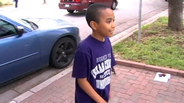 Boy, 11, Starts College Life With Mom at His Side