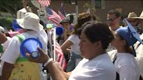 May Day Marches Draw Thousands to Los Angeles