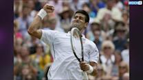 Djokovic Wins 2nd Set To Level Wimbledon Final