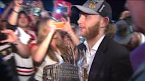 `Hawks players bring Stanley Cup all over Chicagoland area