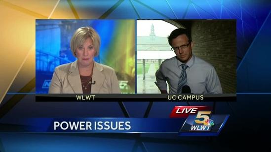 Power problems plague UC campus Friday morning