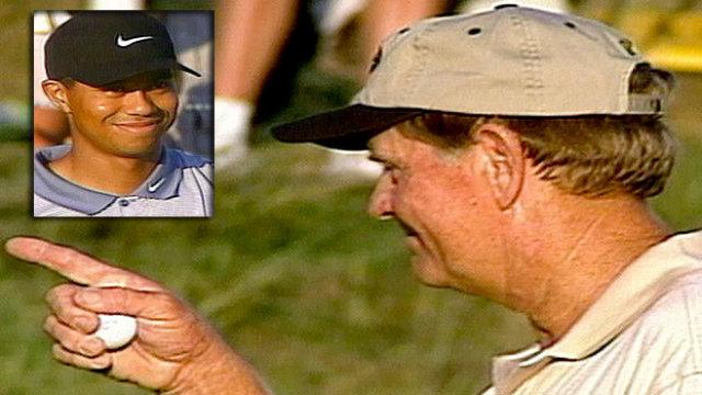 Jack passes torch to Tiger at Valhalla