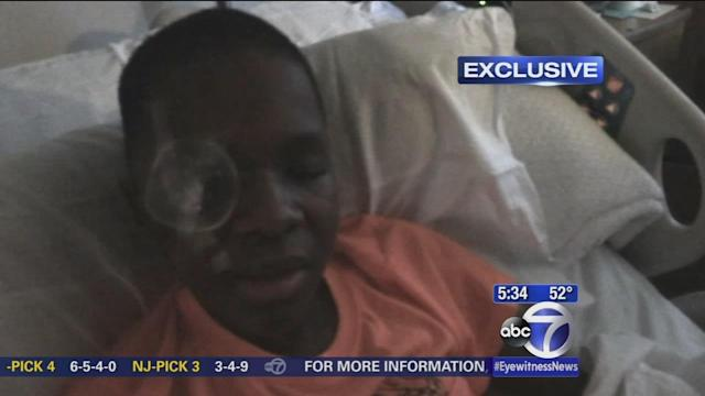 Exclusive: Shot Brooklyn teen speaks from hospital bed