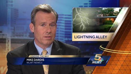 Where is the Tri-State's 'Lightning Alley?'