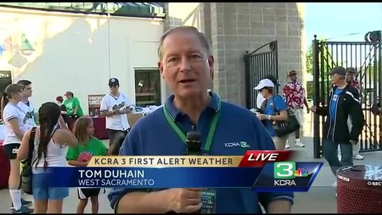 Raley Field preps for triple-digit heat