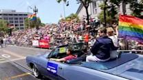 Huge crowd gathers for SF's annual Pride Parade